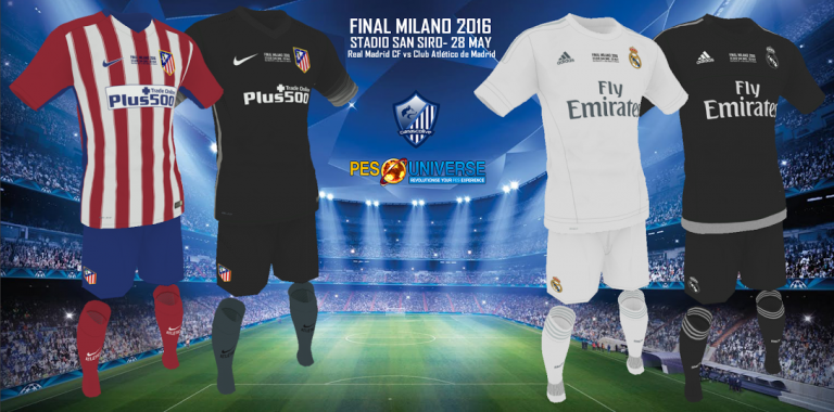 Champions League Final Special Edition Kit Pack By