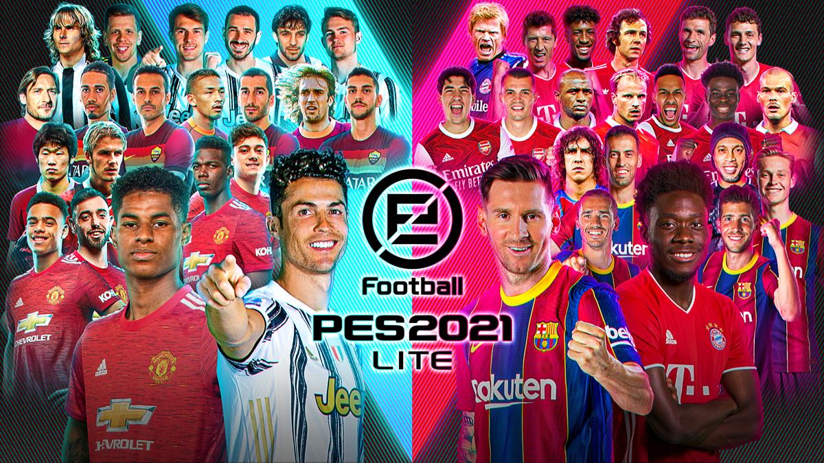 eFootball PES 2021 LITE è disponibile!
