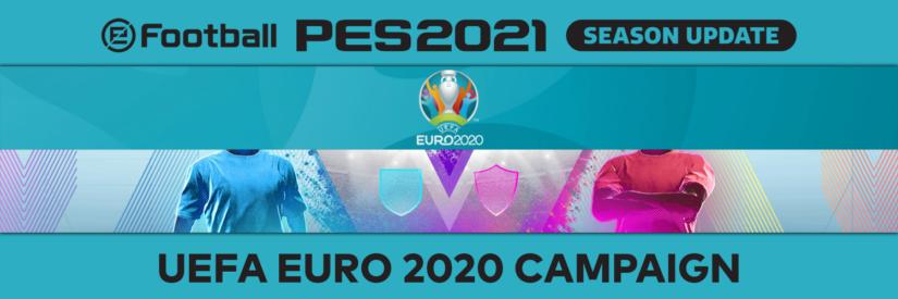 eFootball PES – Panoramica Matchday della settimana e UEFA EURO 2020™ Campaign