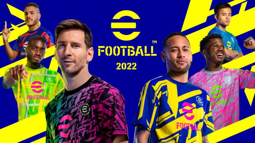 eFootball 2022 è finalmente disponibile per Console e PC!
