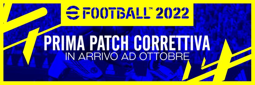 eFootball 2022 – Prima patch correttiva in arrivo ad ottobre